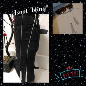 """Accessories - 12"""" Long Boot """"Bling"""""""